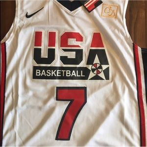 finest selection 345c9 31caa #7 Nike USA Larry Bird Dream Team Jersey NWT
